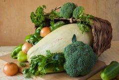 Groene groenten Stock Afbeeldingen