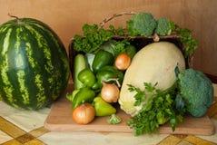 Groene groenten Stock Afbeelding