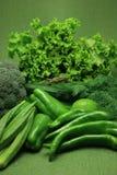 Groene groenten Stock Foto's