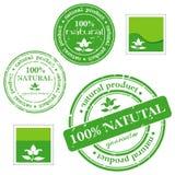Groene grunge rubberzegel Stock Foto