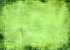Groene grungeachtergrond Stock Foto's