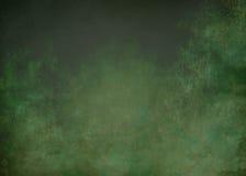 Groene grungeachtergrond Stock Afbeeldingen