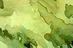 Groene grungeachtergrond Royalty-vrije Stock Afbeeldingen