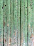 Groene grungy plank stock fotografie