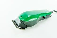 Groene Haarclipper stock foto's
