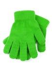 Groene Handschoen Stock Foto