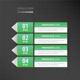 Groene het neon van het etiketontwerp Stock Afbeelding