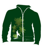 Groene het ontwerpvector van de t-shirt Royalty-vrije Stock Afbeeldingen