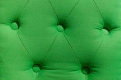 Groene het patroonachtergrond van het stofferingsleer Stock Foto's