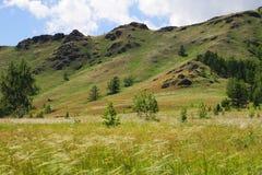 Groene Heuvel Royalty-vrije Stock Afbeeldingen