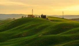 Groene heuvels Royalty-vrije Stock Fotografie