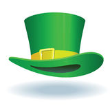 Groene hoed Stock Afbeelding