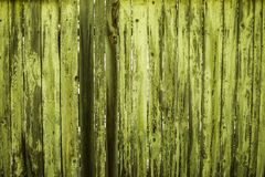 Groene houten achtergrond Stock Afbeeldingen
