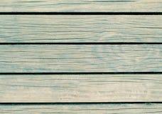 Groene houten achtergrond Natuurlijke houten textuur met horizontale lijnen Royalty-vrije Stock Afbeeldingen