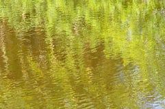 Groene Impressionistachtergrond Stock Foto