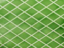 Groene keramische tegels Stock Afbeelding