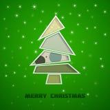 Groene kerstboom Royalty-vrije Stock Afbeelding