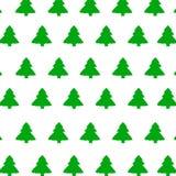 Groene Kerstboom Royalty-vrije Stock Afbeeldingen