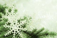 Groene Kerstmisachtergrond royalty-vrije stock foto's