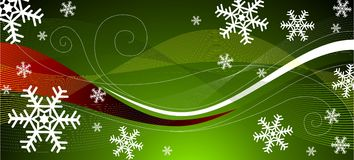 Groene Kerstmisdecoratie Stock Foto