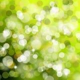 Groene Kerstmislichten Vector Illustratie