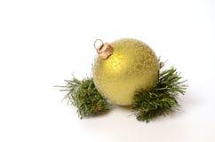 Groene Kerstmissnuisterij Royalty-vrije Stock Foto's