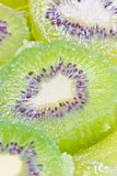 Groene kiwi. Stock Afbeelding