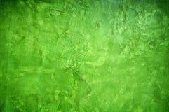 Groene kleur het schilderen muur Royalty-vrije Stock Foto