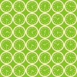 Groene klokachtergrond Royalty-vrije Stock Foto's