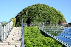 Groene koepel. Stock Foto