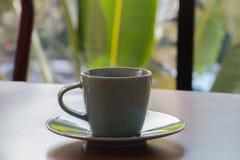 Groene koffiekop Stock Fotografie