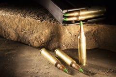 Groene kogels Stock Afbeelding