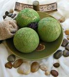 Groene kom Royalty-vrije Stock Afbeeldingen