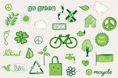 Groene krabbel Stock Afbeelding