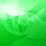 Groene Krommen Stock Afbeelding