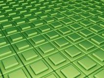Groene kubussenachtergrond Vector Illustratie