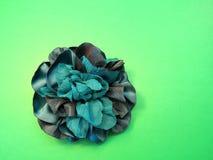 Groene kunstbloem Stock Foto's