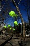 Groene lamp Royalty-vrije Stock Fotografie