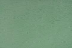 Groene leerachtergrond Stock Foto