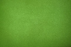 Groene leertextuur Stock Afbeelding