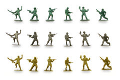 Groene legermensen Royalty-vrije Stock Fotografie