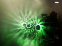 Groene lichten Royalty-vrije Stock Foto's