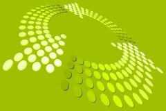 Groene Lijn royalty-vrije illustratie