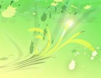 Groene lijnen Royalty-vrije Stock Fotografie