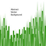 Groene lijnen abstracte vectorachtergrond vector illustratie