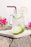Groene limonade Royalty-vrije Stock Fotografie