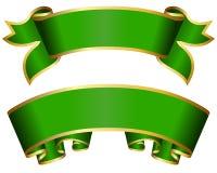 Groene lintinzameling Royalty-vrije Stock Foto