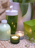 Groene luxe stock afbeeldingen