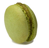 Groene Macaron Stock Afbeeldingen