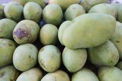 Groene mango's Royalty-vrije Stock Afbeeldingen